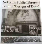 Nokomis Public Library hosting 'Designs of Duty' by Free Press-Progress