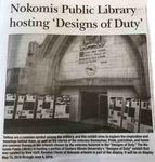Nokomis Public Library hosting 'Designs of Duty'