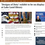 'Designs of Duty' exhibit to be on display at Lake Land library by JG/T-C