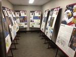 """""""Designs of Duty"""" at Effingham Public Library by Andrew Cougill"""