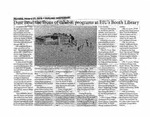 Dust Bowl the focus of exhibit, programs at EIU's Booth Library by Oakland Independent