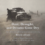 'Dust, Drought, and Dreams Gone Dry' Program Booklet by Eastern Illinois University