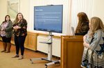 Dr. Lynne Curry's history students present research projects by Bev Cruse