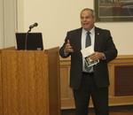 EIU President David Glassman provides remarks by Beth Heldebrandt