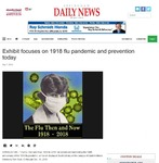 Exhibit focuses on 1918 flu pandemic and prevention today by Effingham Daily News