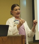 """Ramona Tomshack presents """"Influenza and Infection Prevention -- Can You Say FLU, SARS, MERS CoV?"""" by Beth Heldebrandt"""