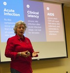 """Professor Sheila Simons presents """"The HIV Crisis in America: The Long Road to Action"""" by Beth Heldebrandt"""