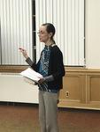 "Associate Profess Kirstin Duffin introduces ""Hidden Figures"" by Beth Heldebrandt"