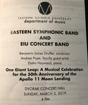 One Giant Leap: A Musical Celebration for the 50th Anniversary of Apollo 11 Moon Landing by the Eastern Symphonic Band and the Eastern Concert Band by Beth Buskirk