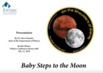 Baby Steps to the Moon
