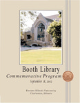 Booth Library Renovation - Commemorative Program by Booth Library