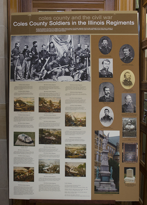 Coles County Soldiers in the Illinois Regiments