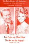 """""""The Owl and the Pussycat"""" starring Eileen Fulton and Tom Poston"""