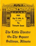 13th Season 1969 by Little Theatre on the Square