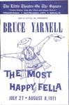 The Most Happy Fella starring Bruce Yarnell