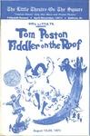 The Fiddler on the Roof starring Tom Poston