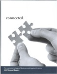 Annual Report 2007: Connected. by Lumpkin College of Business and Applied Sciences