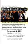 EIU Choral Ensembles by Music Department