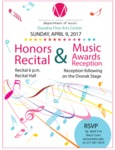 Honors Recital & Music Awards Reception by Music Department