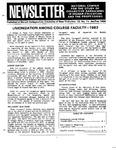 Newsletter Vol. 12 No. 1 1984