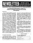 Newsletter Vol. 12 No. 5 1984