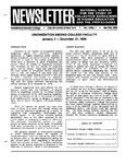 Newsletter Vol. 13 No. 1 1985