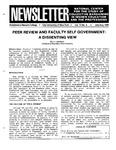 Newsletter Vol. 14 No. 3 1986