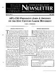 Newsletter Vol.25 No.1 2000