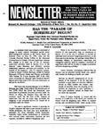 Newsletter Vol.22 No.3 1994