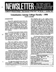 Newsletter Vol.22 No.1 1994
