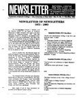 Newsletter Vol.21 No.4 1993