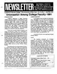 Newsletter Vol.19 No.1 1991