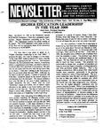 Newsletter Vol.19 No.2 1991
