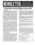 Newsletter Vol.18 No.1 1990
