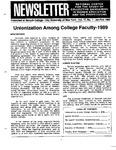 Newsletter Vol.17 No.1 1989