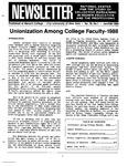 Newsletter Vol.16 No.1 1988