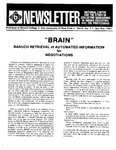 Newsletter Vol.9 No.1 1981