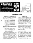 Newsletter Vol.7 No.4 1979