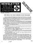 Newsletter Vol.8 No.1 1980