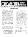 Newsletter Vol.8 No.3 1980