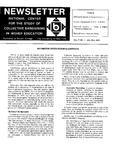 Newsletter Vol.7 No.1 1979