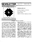 Newsletter Vol.6 No.5 1978