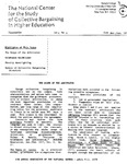 Newsletter Vol.5 No.5 1977 by National Center for the Study of Collective Bargaining in Higher Education and the Professions