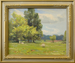 The Sargent Farm Scene by Paul Turner Sargent