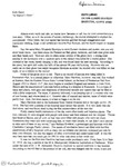 A Matron's Story (Dept. of Journalism student paper) by Kelli Quinn