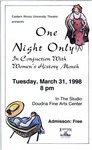 One Night Only (1998) by Theatre Arts