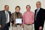 President Glassman, Leeila Ennis, Guest, Provost Lord