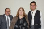 President Glassman, Vicki Woodard, Guest