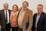 President Glassman and Jay Gatrell, V.P. of Academic Affairs with Terry Barnhart & Guest by Beverly Cruse