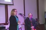 Janahn Kolden with Dr. Allen Lanham by Beth Heldebrandt